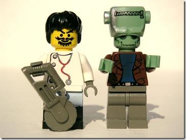 Frankenstein and Monster by Dunechaser