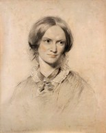 NPG 1452,Charlotte BrontÎ (Mrs A.B. Nicholls),by George Richmond