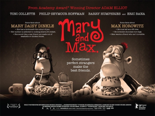 Mary And Max A Film By Adam Elliot Vulpes Libris