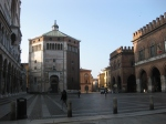 Cremona - piazza, cathedral, baptistry and town hall