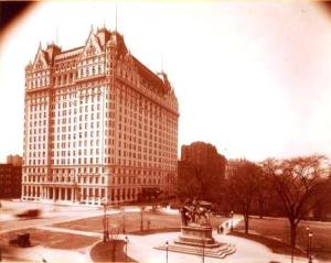 The Plaza Hotel, New York, via Wikimedia Commons