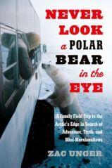 polar bear in eye