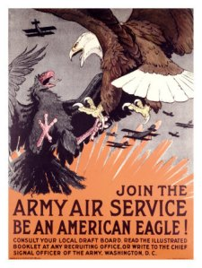 WW1 poster-eagles