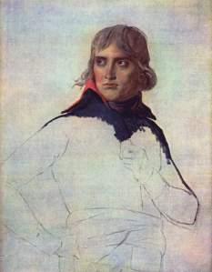 Portrait of General Bonaparte (1797) by Jacques-Louis David [Public domain or Public domain], via Wikimedia Commons