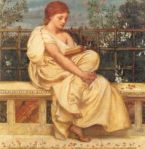 Reading, by Sir Edward Poynter