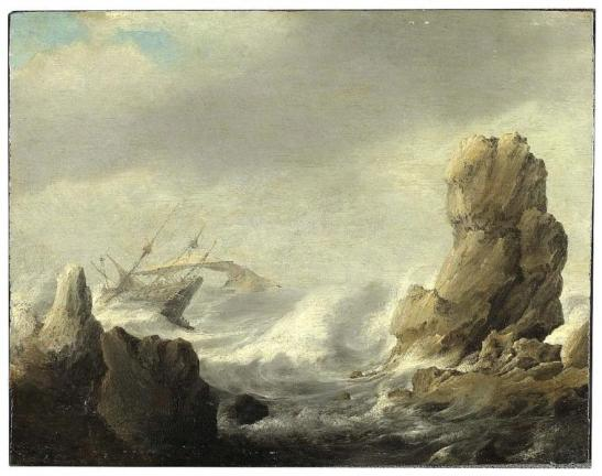 Jan_Peeters_(I)_-_Storm_at_Sea