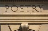 poetry carved