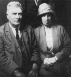 T F and Violet Powys