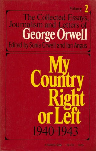 george orwells politics and the english